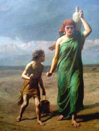 Ishmael and Hagar
